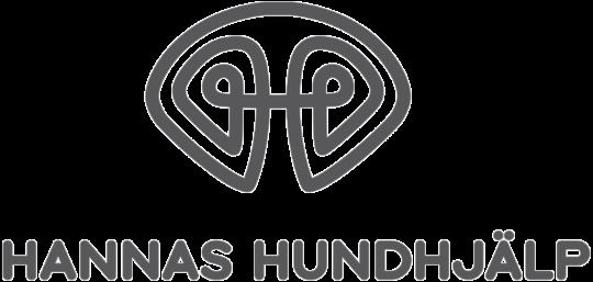 Hannas hundhjälp hundträning logo logga